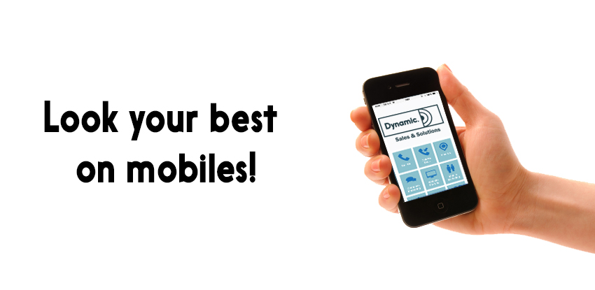 Look your best on mobiles!