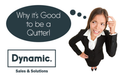 Why it's Good to be a Quitter!