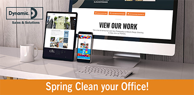 Spring Clean your Office!
