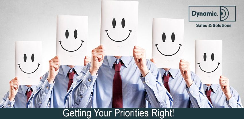 Getting Your Priorities Right!
