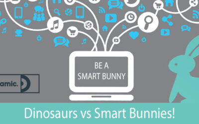 Dinosaurs vs Smart Bunnies!