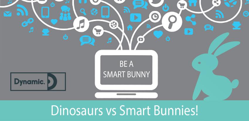 Dinosaurs vs Smart Bunnies!