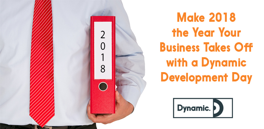 Make 2018 the Year Your Business Takes Off with a Dynamic Development Day!
