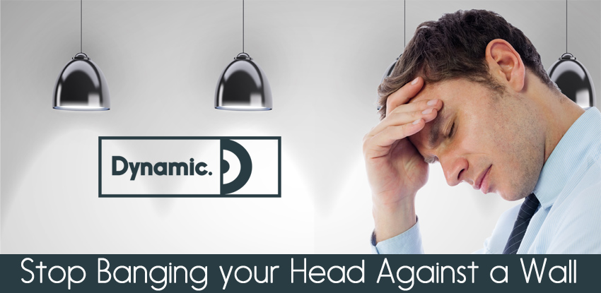 Stop Banging your Head Against a Wall!