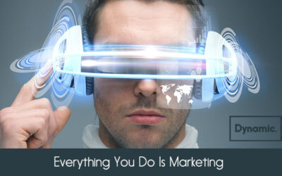 Everything you do is Marketing