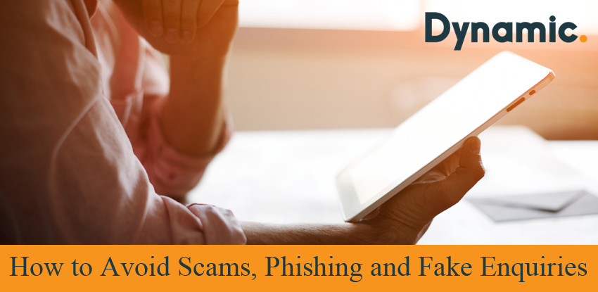 How to Avoid Scams, Phishing and Fake Enquiries