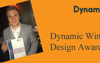 Dynamic Wins Design Award!