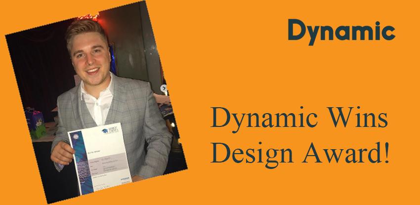Dynamic Wins Design Award!