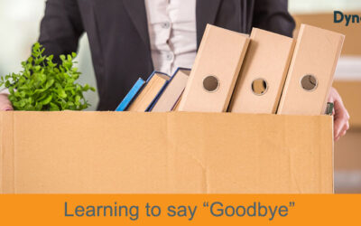 "Learning to say ""Goodbye"""