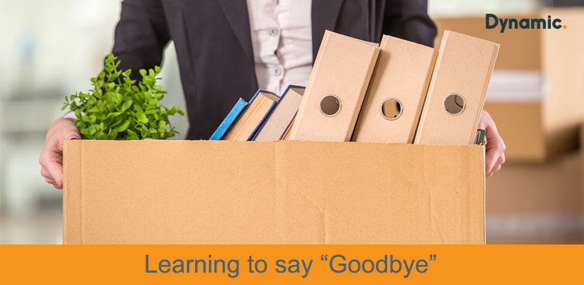 """Learning to say """"Goodbye"""""""