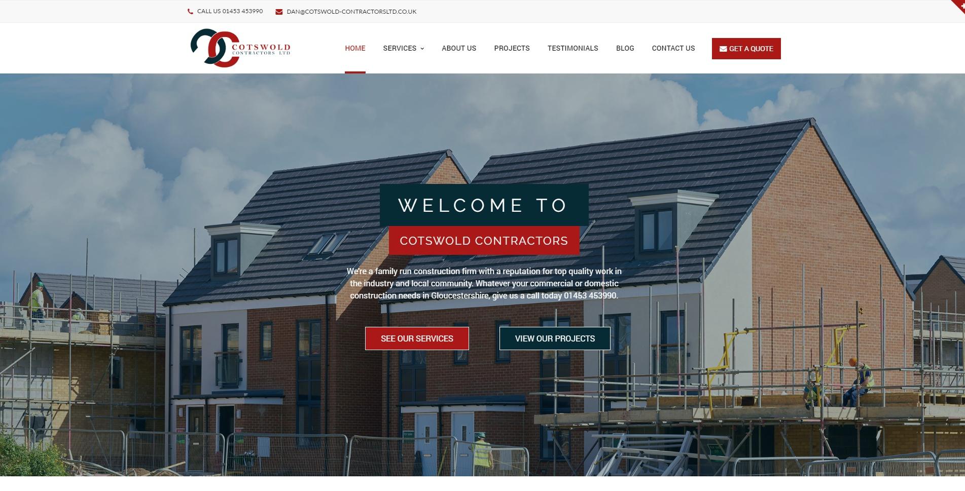 Cotswold Contractors Ltd Screenshot