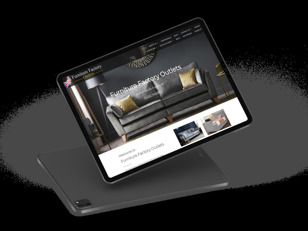 Furniture Factory IPad Pro Render