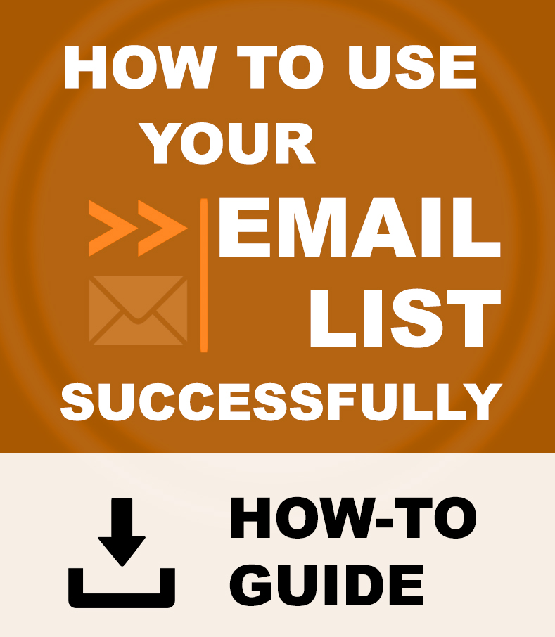 How To Use Email List
